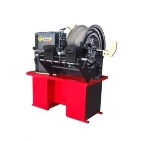 Станок для рихтовки литых дисков (дископравильный станок) Roller rim press