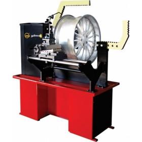 Станок для рихтовки литых дисков (дископравильный станок) KONIG 5400