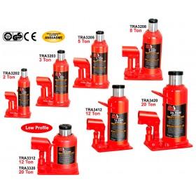 Серия гидравлических бутылочных домкратов  Heavy Duty Industrial TRA3202-TRA3320