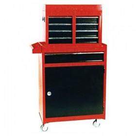 Ящик + шкафчик для инструментов на роликах TBT1204+TBR1201